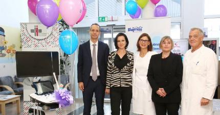 Donacija ultrazvoka postojnski porodnišnici