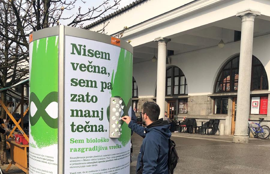 Skupaj z Mestno občino Ljubljana proti plastičnim vrečkam
