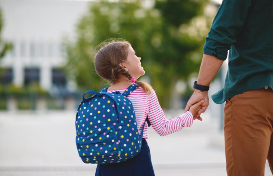 Varno v šolo in domov in kako načrtovati pot